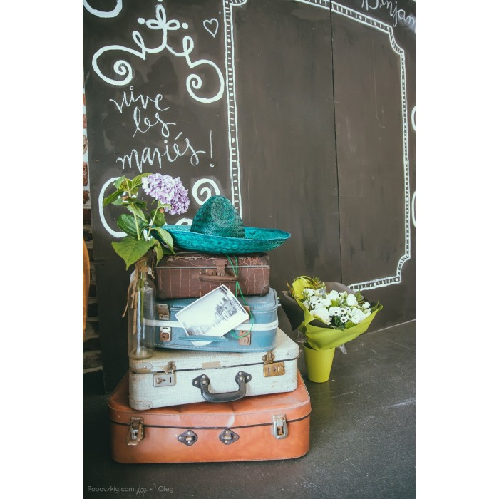 location Valises vintage