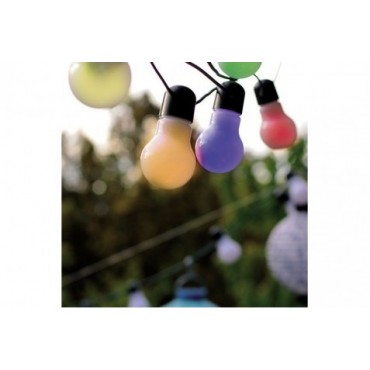 location Guirlande Guinguette 12m ampoules Multicolor